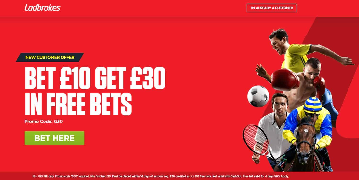 Ladbrokes Online Betting - Welcome Offer