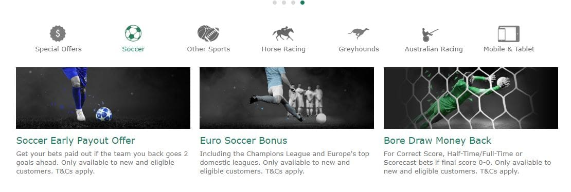 bet365 Football Betting Promotions Options