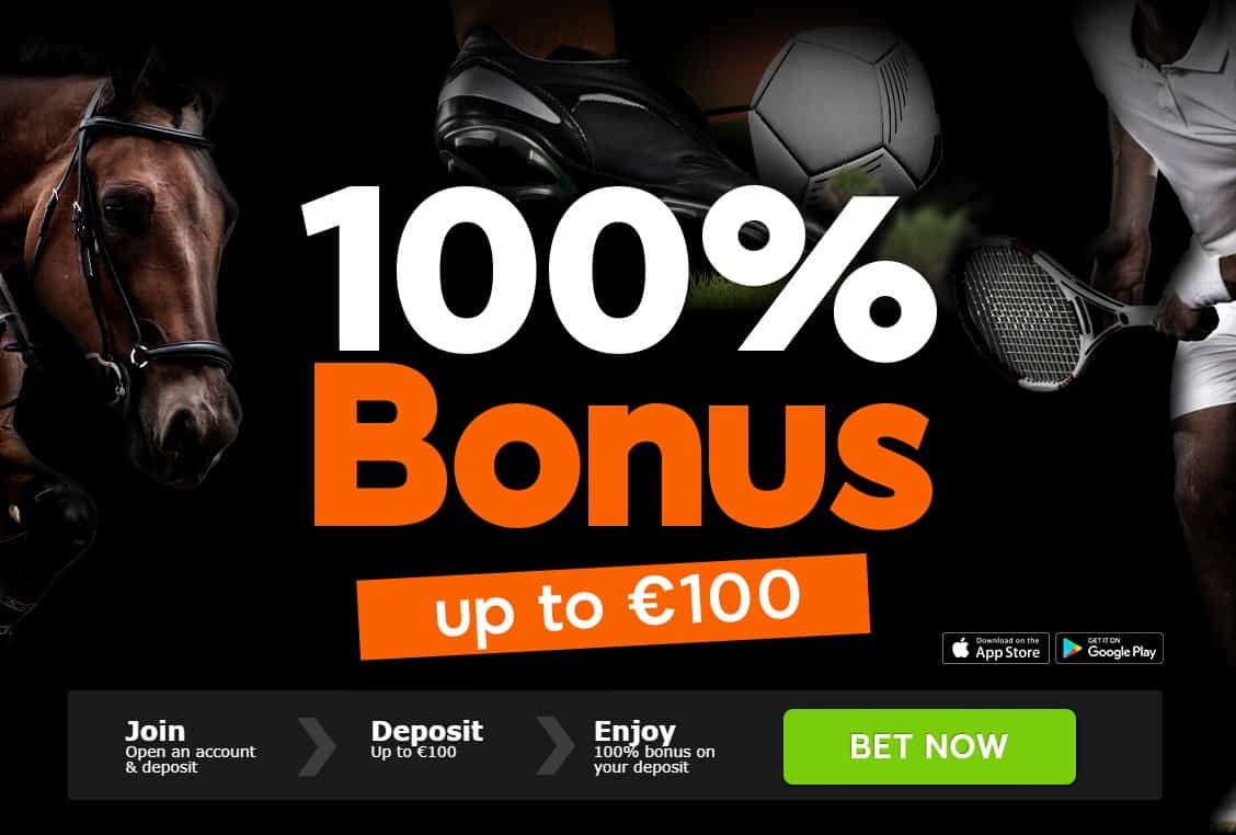 888 Football Betting Welcome Offer Up to £100 Deposit Bonus