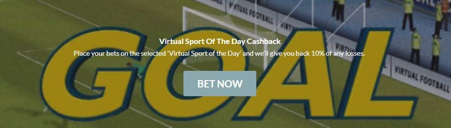 BlackType - Virtual Sport of The Day Cashback Offer
