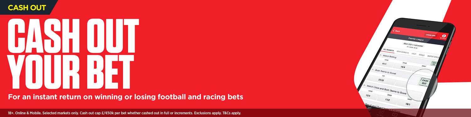 Ladbrokes Cash Out Feature