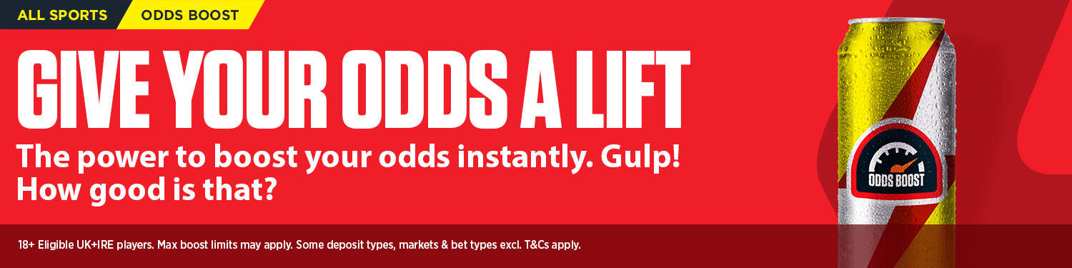 Ladbrokes Odds Boost Offer