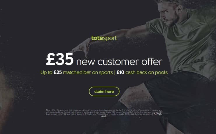 Totesport welcome offer