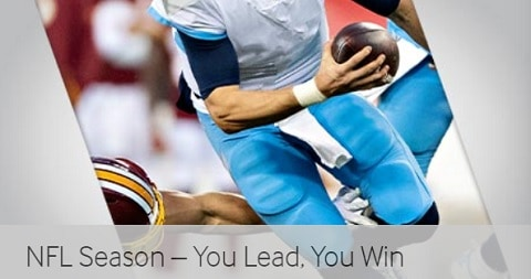 Betway NFL Season - You Lead, You Win
