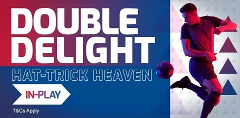 Betfred Betfred Football - Double Delight & Hat-trick Heaven In-Play