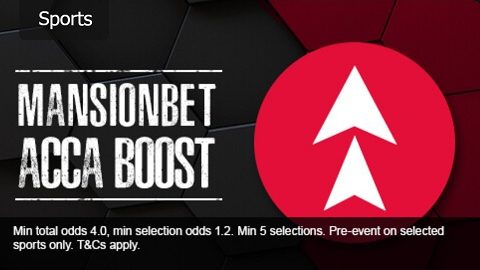 MansionBet ACCA Boost