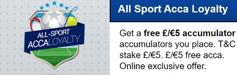 BoyleSports All Sport Acca Loyalty