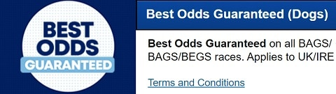 BoyleSports Best Odds Guaranteed (Dogs)