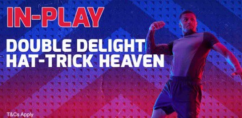 Betfred Football - Double Delight & Hat-trick Heaven In-Play