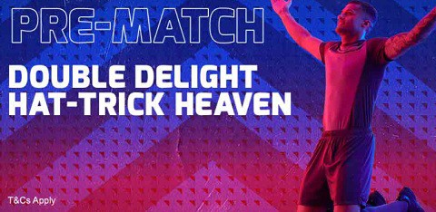 Betfred Football - Double Delight & Hat-trick Heaven Pre-Match
