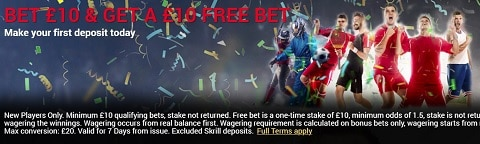 BetDukes Bet £10 and Get A £10 Free Bet