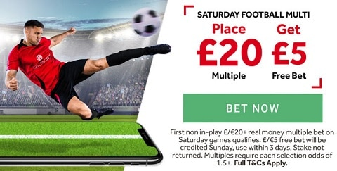 GentingBet Saturday Football Multi