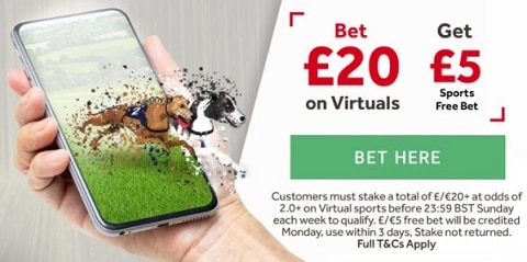 GentingBet Weekly Virtuals Offer