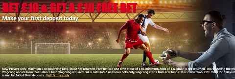 MapleBet Bet £10 and Get A £10 Free Bet
